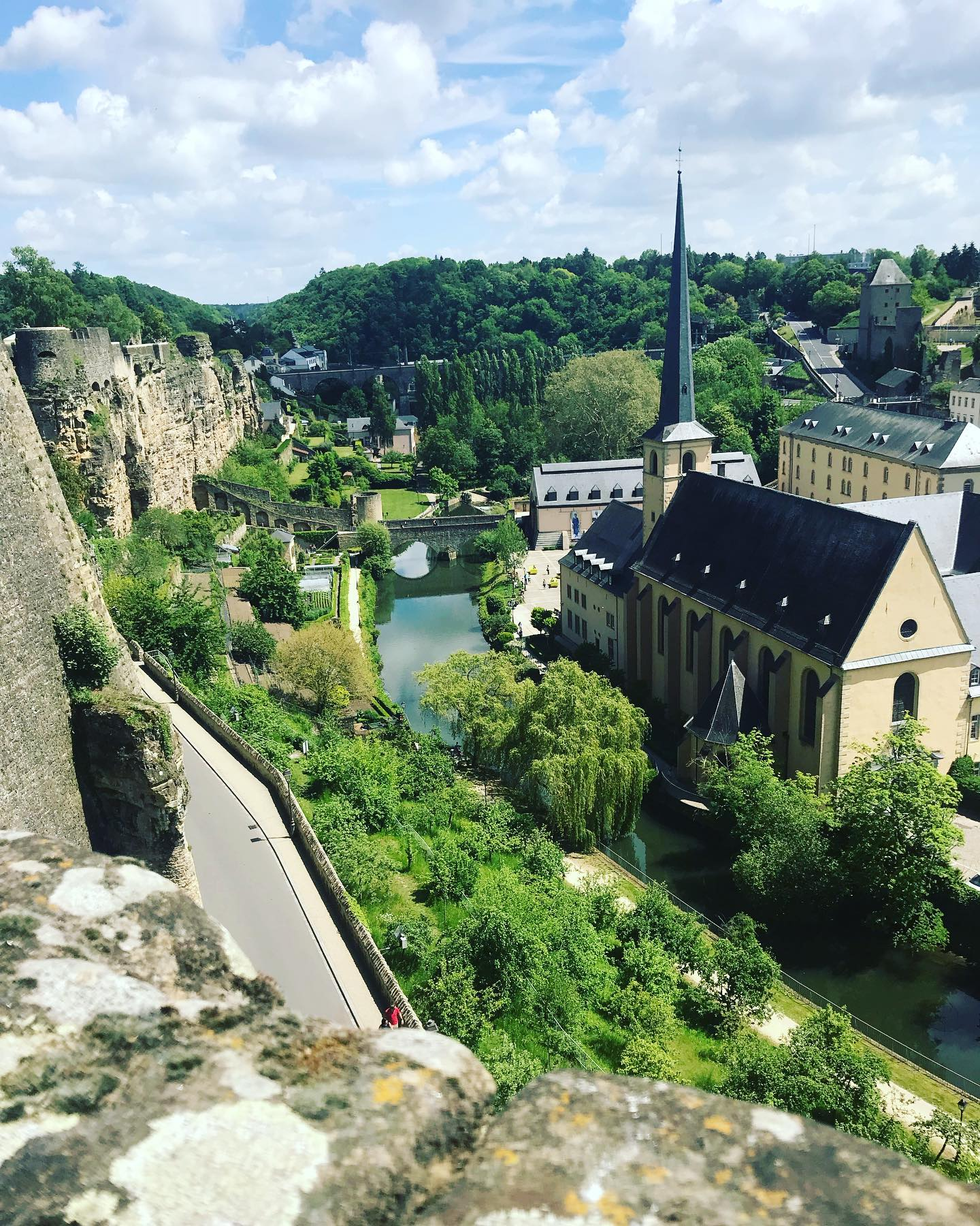 Luxembourg wins for most dramatic landscape. It really takes your breath away. ❤️ #Luxembourg 🇱🇺