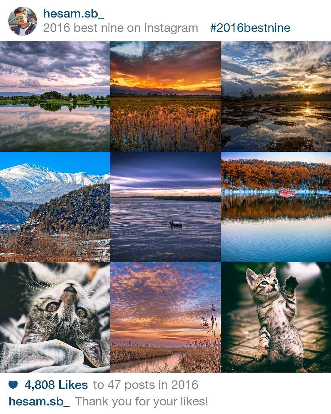 my #2016bestnine  in instagram ! . thank you for your likes. #thebestiscoming #landscapephotography