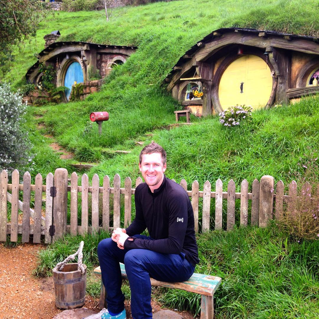 Do you remember the shire, Mr Frodo? It'll be spring soon and the orchards will be in blossom,and the birds will be nesting in the hazel thicket,and the whistle in the summer barley of the lower fields...and eating the first of the strawberries with cream...do you remember the taste of strawberries, Mr Frodo?...#hobbiton #lordoftherings #matamata