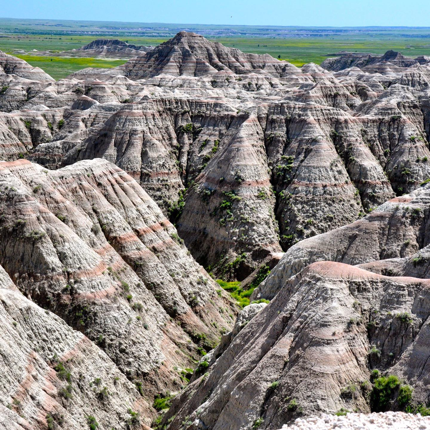 Badlands NP, South Dakota The Badlands are quite unique and one of the most underrated National Parks in the United States.  #roadtrippin #roadtripusa🇺🇸 #traveltheusa #southdakota #southdakotagram #badlands #badlandsnationalpark #nature #naturephotography #naturelovers #landscape #labdscapephotography #sobeautiful #beautifulnature #nationalparksusa #scenicview #amazingplaces #travelblogger #travellover